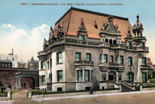 San Francisco Spreckles mansion