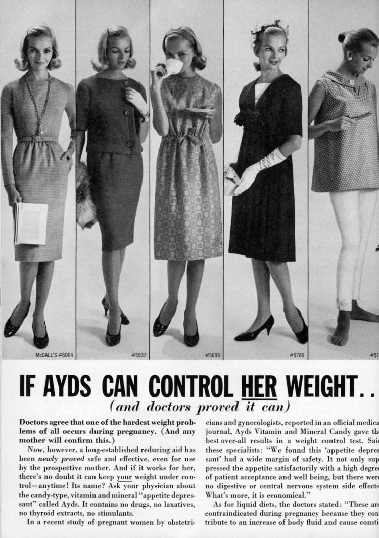 The old Ayds weight loss candy 1961 (2)