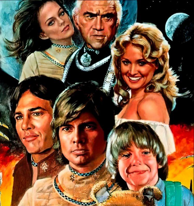 The original Battlestar Galactica TV series cast