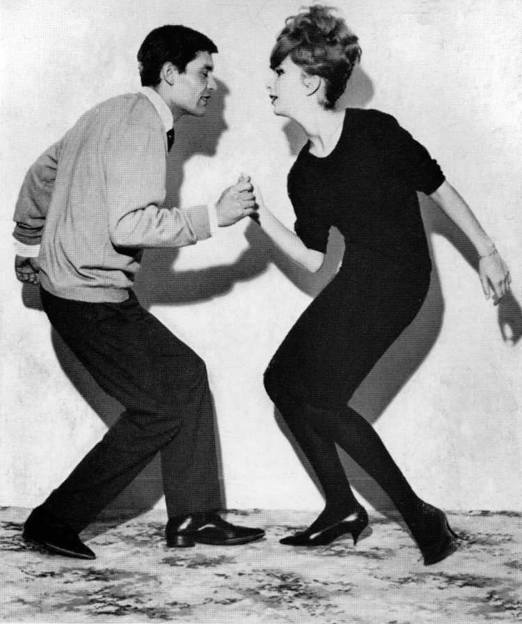 The original Twist dance fad 1961