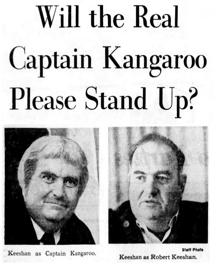 The real Captain Kangaroo 1968