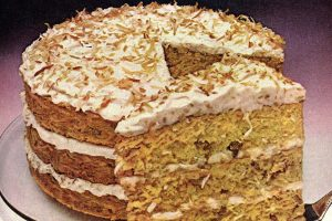 The retro Rave Reviews Coconut Cake recipe (1978)