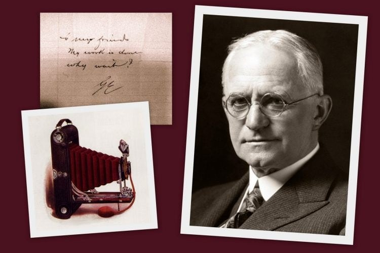 The sad, sudden death of Kodak founder George Eastman