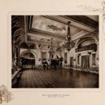 The small ballroom at the Waldorf Hotel