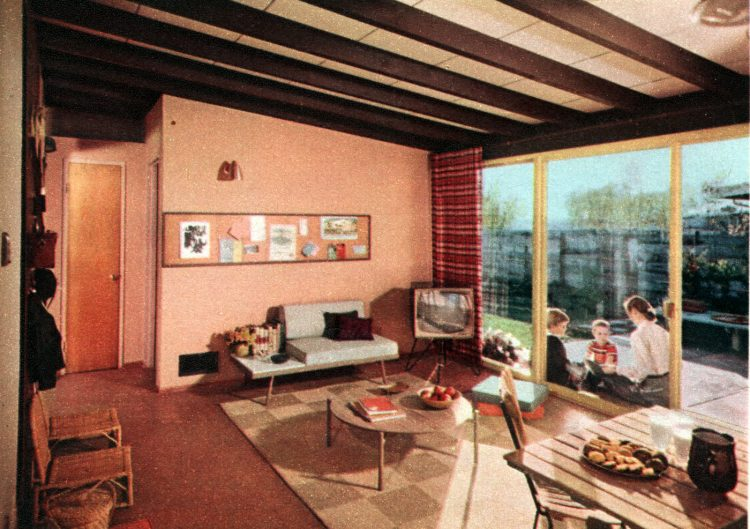 The space house Small-home design and decor from the 50s (1)
