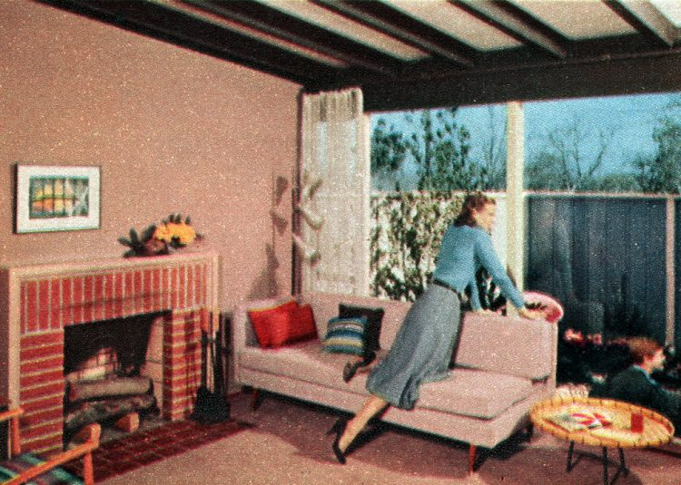 The space house Small-home design and decor from the 50s (3)