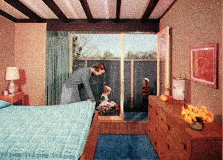 The space house Small-home design and decor from the 50s (4)