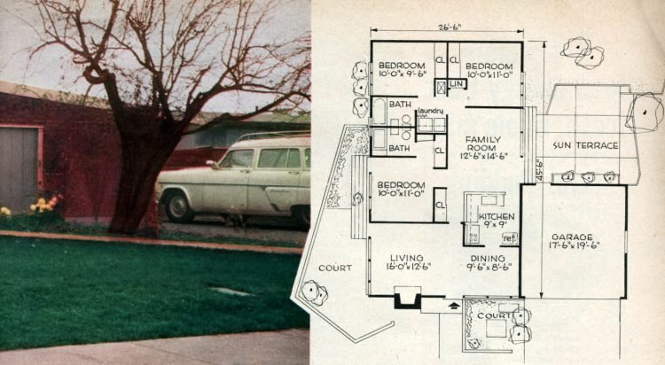 The space house Small-home design and decor from the 50s (5)