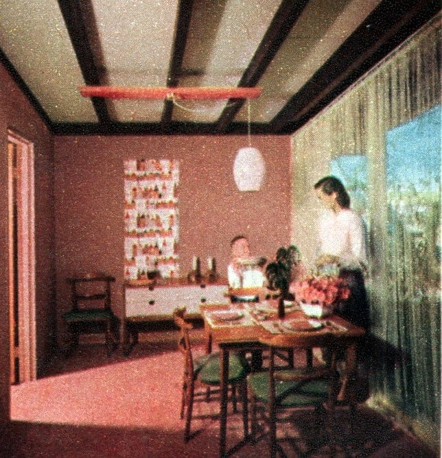 The space house Small-home design and decor from the 50s (6)