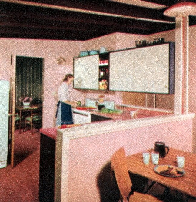 The space house Small-home design and decor from the 50s (7)