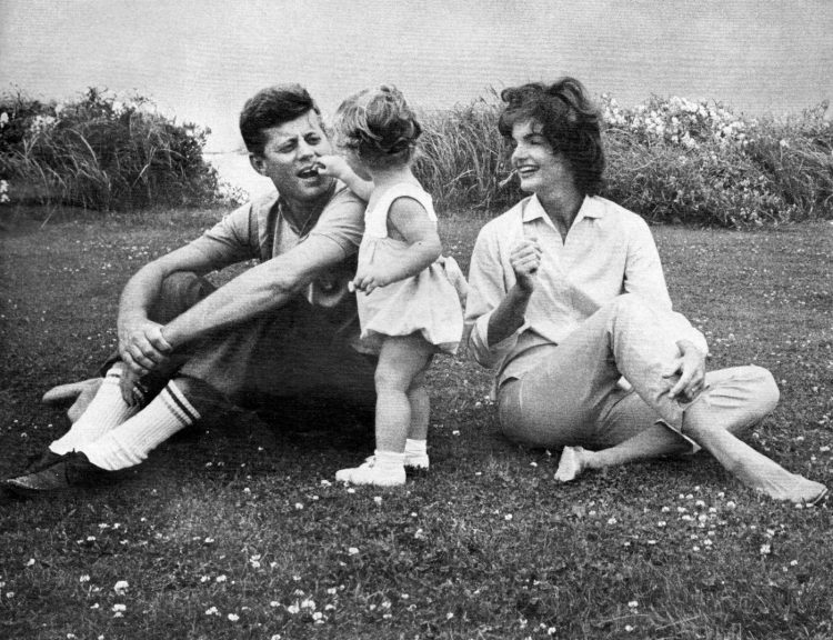 The sweet happy Kennedy family