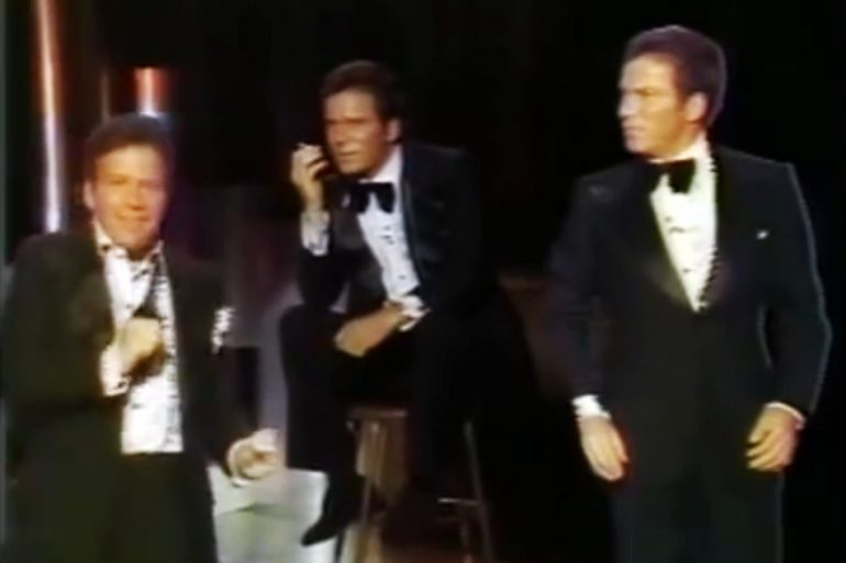 The time that William Shatner performed 'Rocket Man' as Captain Kirk (1978)