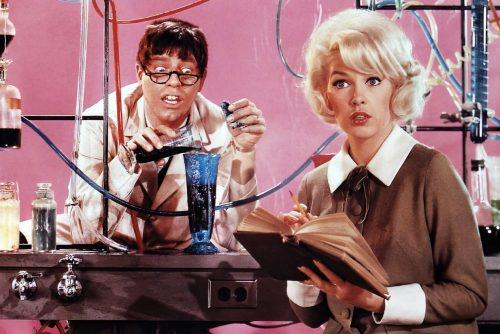 The vintage Nutty Professor movie with Jerry Lewis (1963)