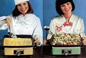 The vintage Rival Crock-Plate multi-purpose cooker (1977)