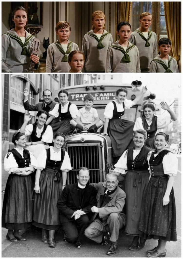 The von Trapps and The Sound of Music Fact vs fiction