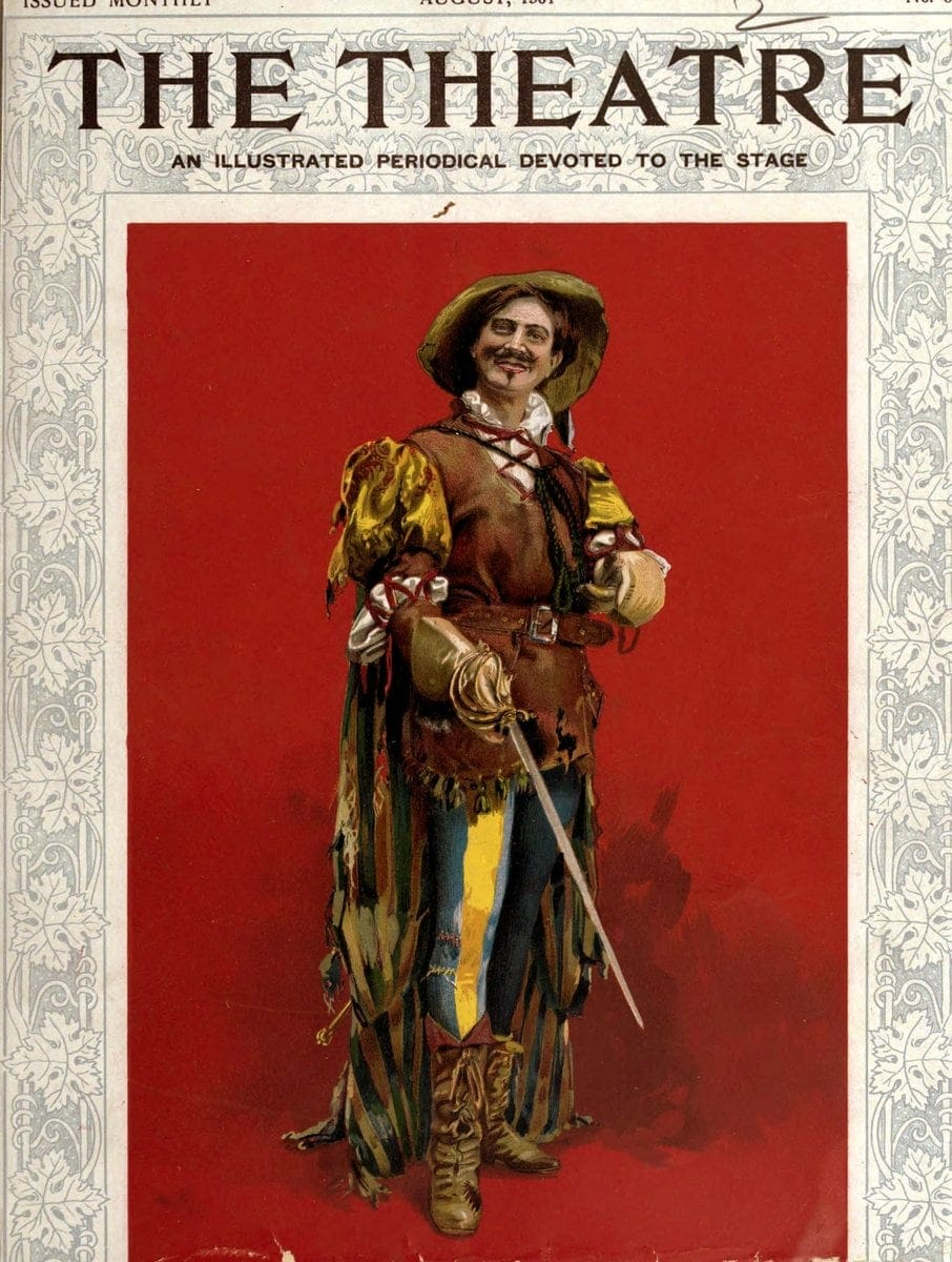Theatre Magazine cover (1901 08)