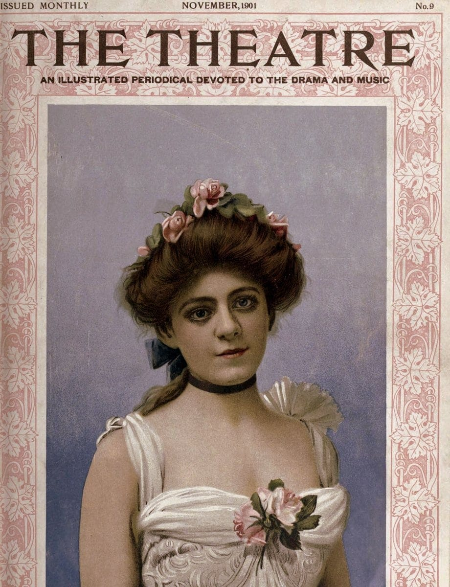 Theatre Magazine cover (1901 11)