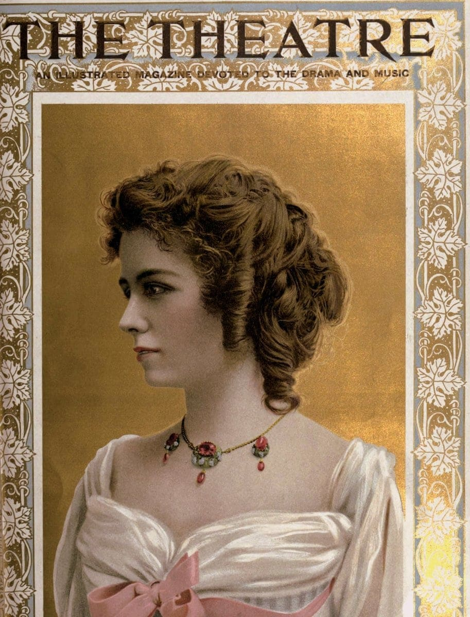 Theatre Magazine cover (1901 12)
