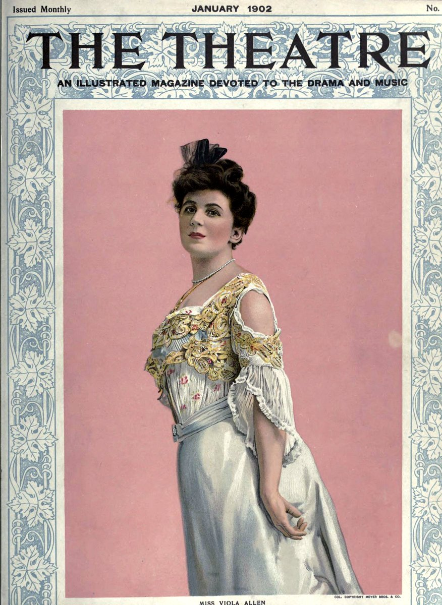 Theatre Magazine cover (1902 01)