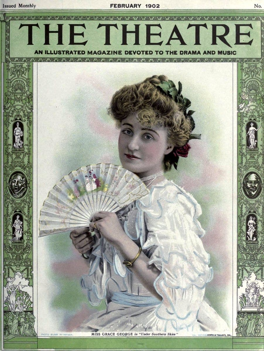 Theatre Magazine cover (1902 02)