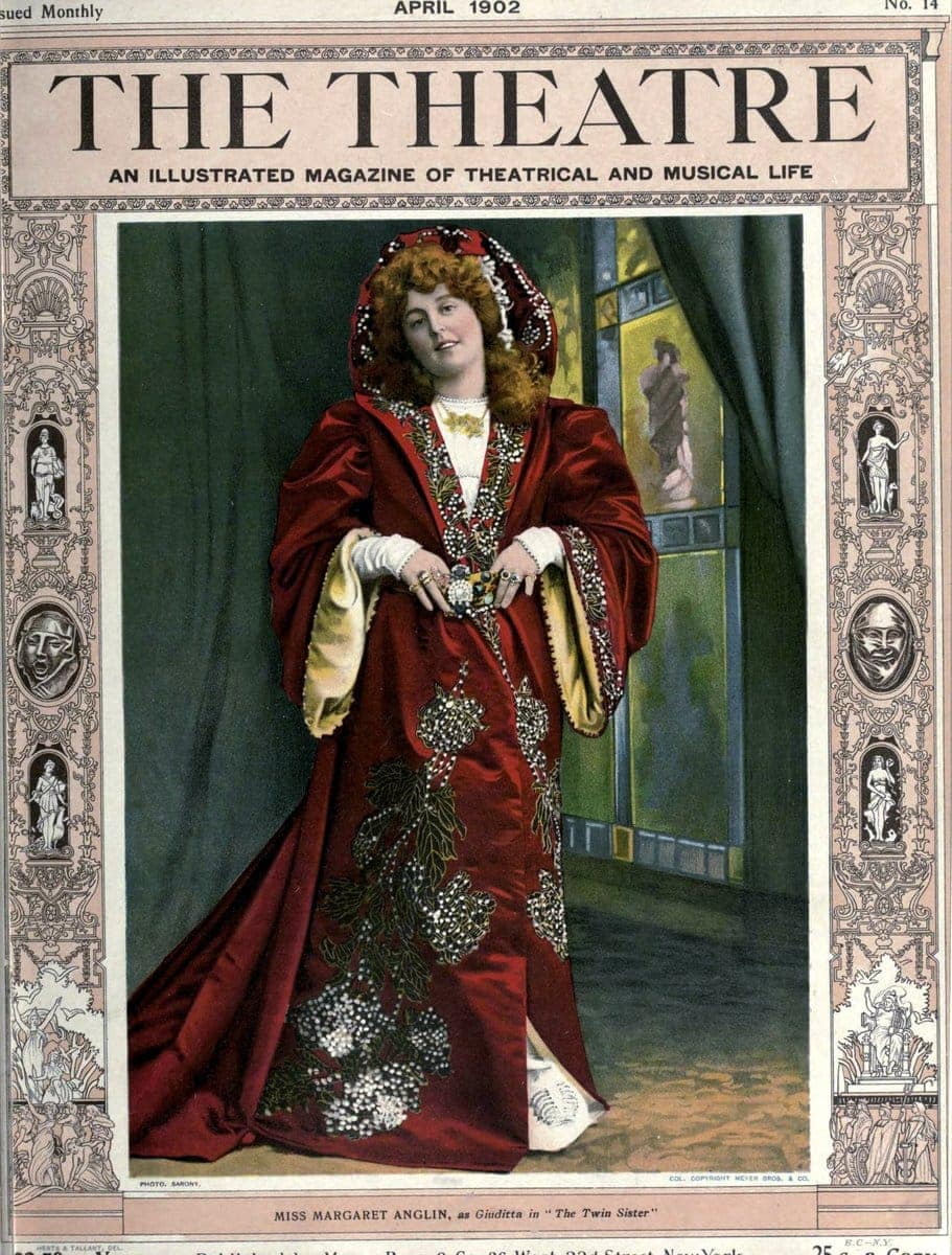 Theatre Magazine cover (1902 04)