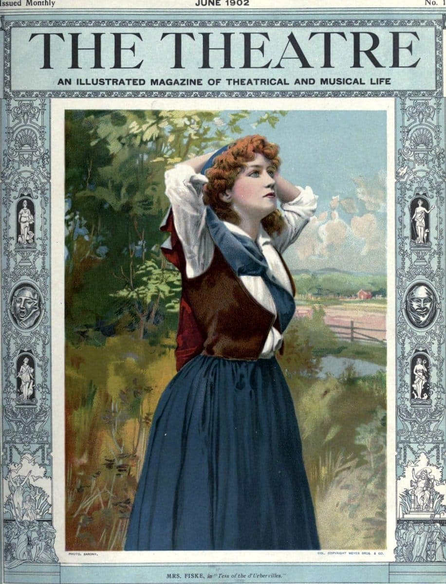 Theatre Magazine cover (1902 06)
