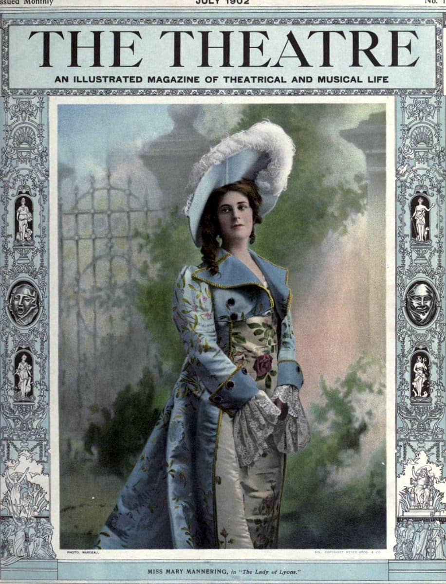 Theatre Magazine cover (1902 07)