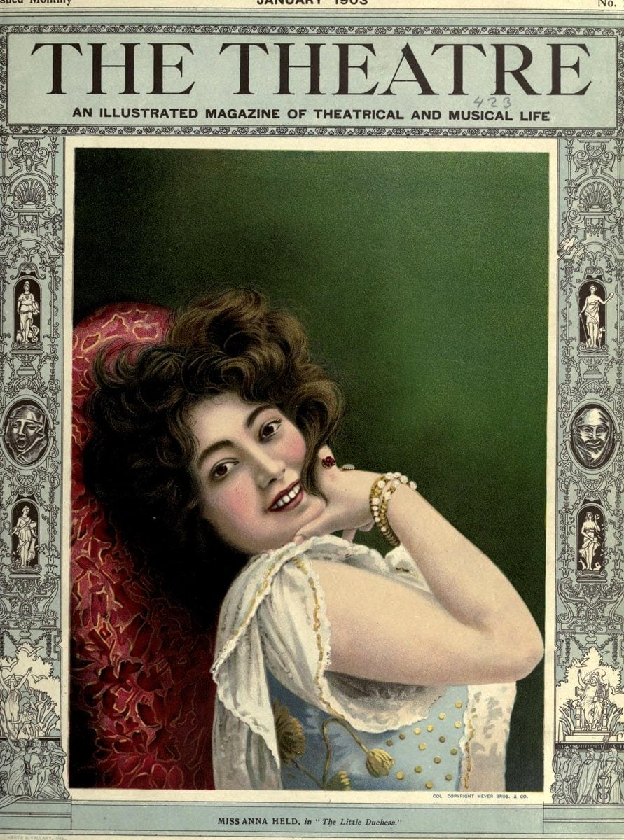 Theatre Magazine cover (1903 01)