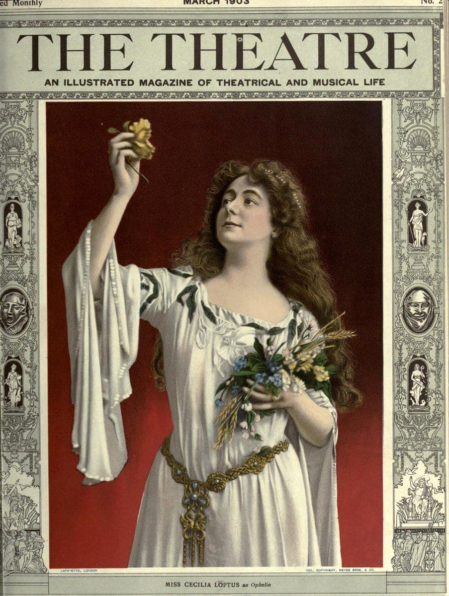 Theatre Magazine cover (1903 03)
