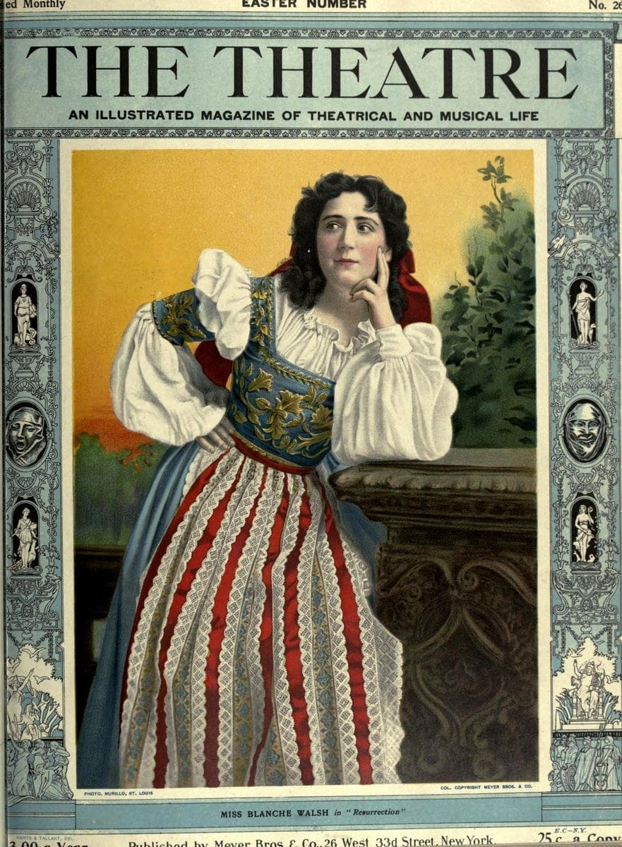 Theatre Magazine cover (1903 04)