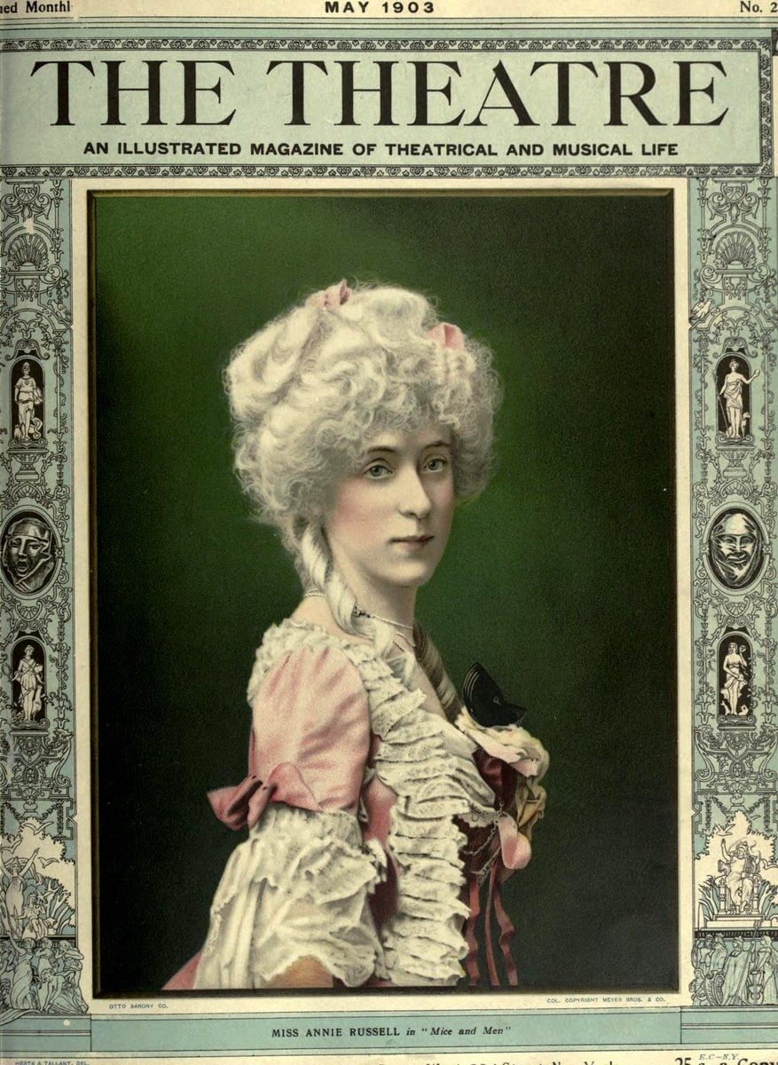 Theatre Magazine cover (1903 05)