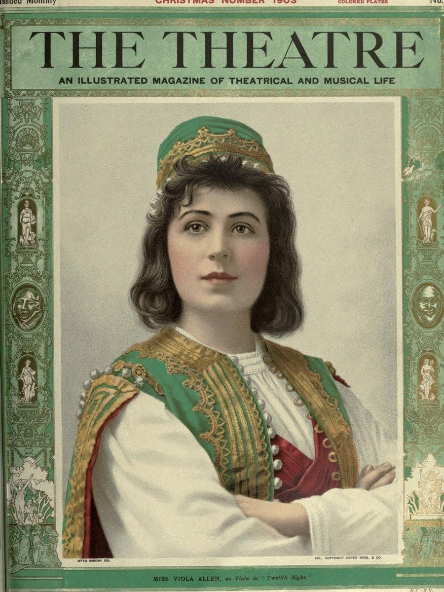 Theatre Magazine cover (1903 12)