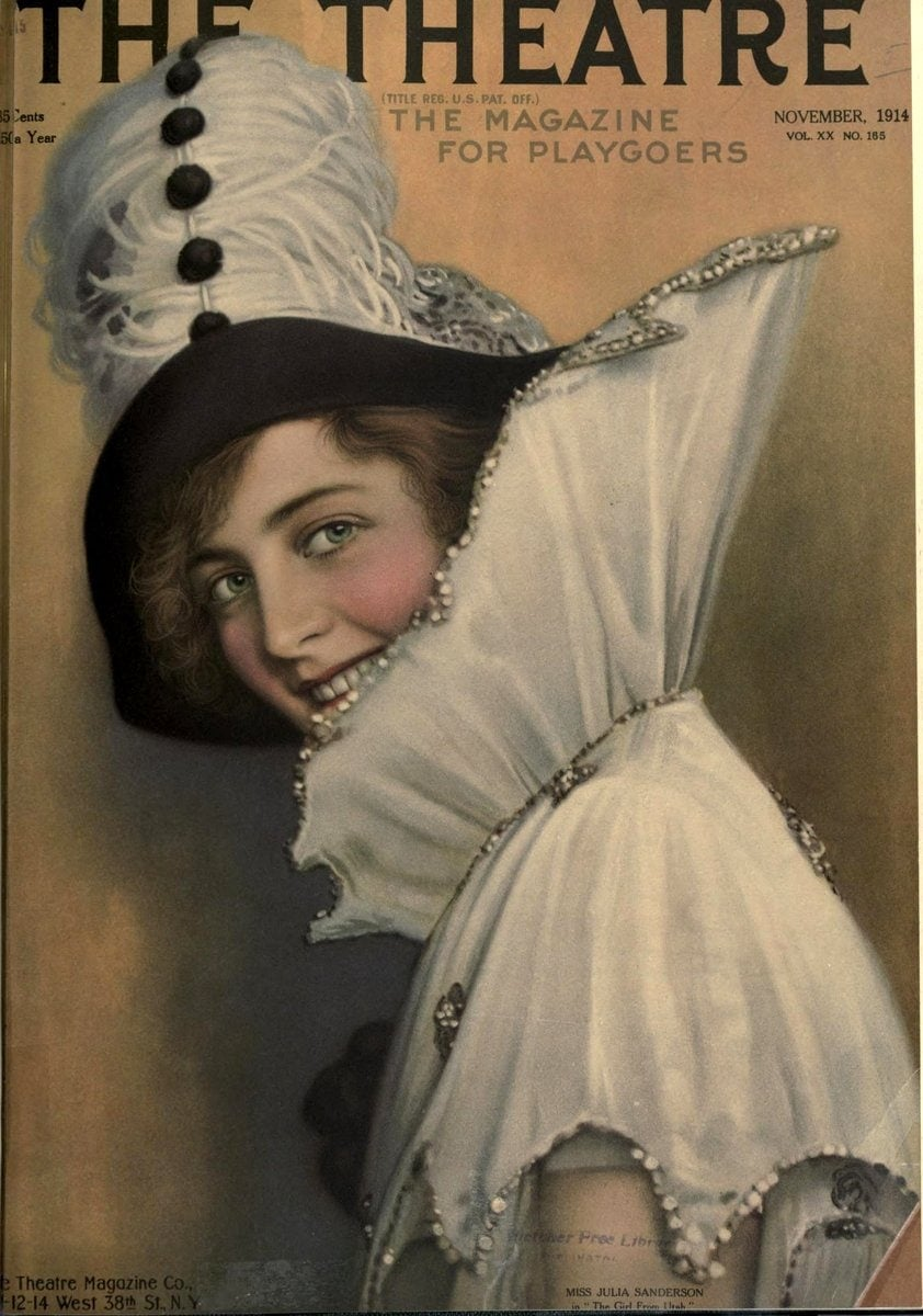 Theatre Magazine cover (1914 11)