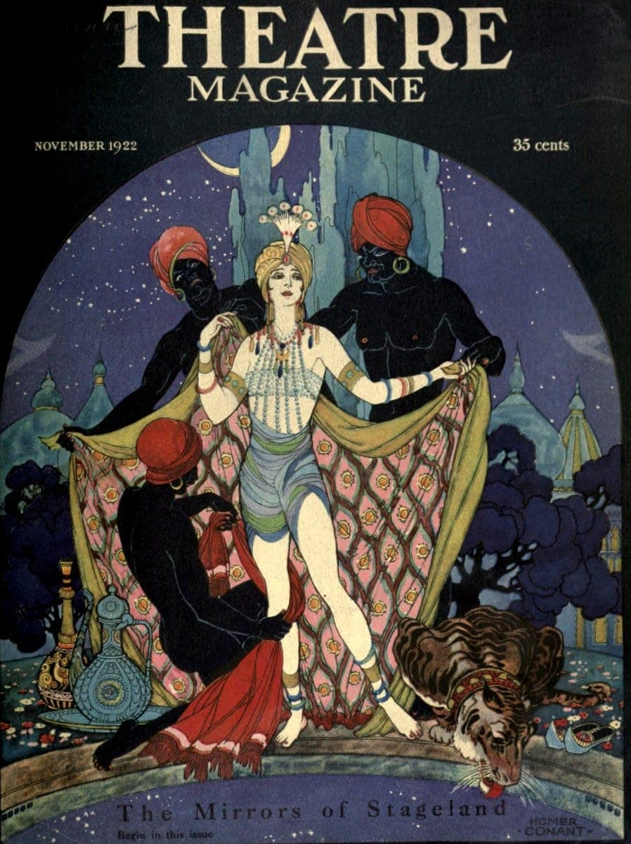 Theatre Magazine cover (1922 11)