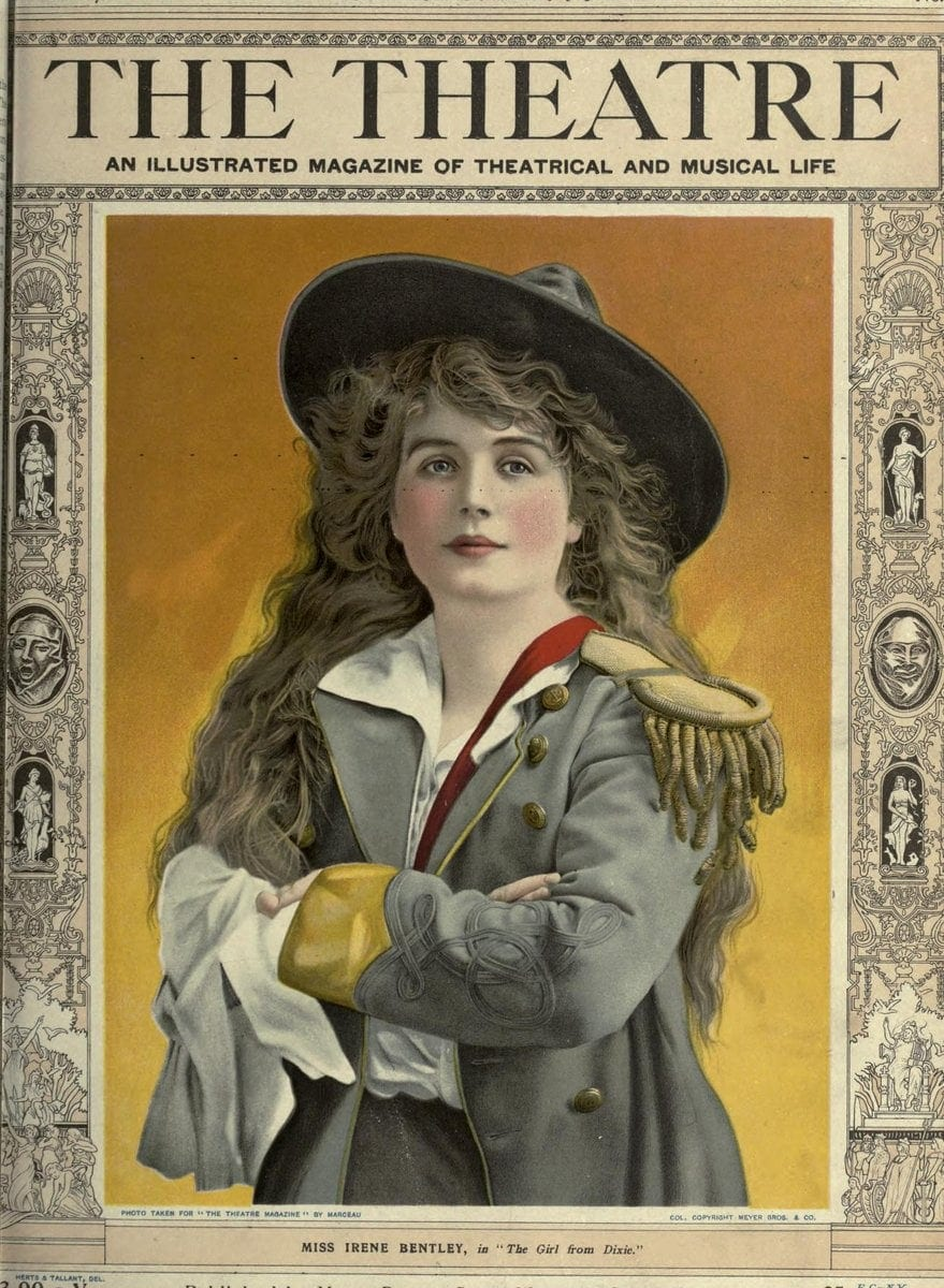Theatre Magazine cover c1903 (3)