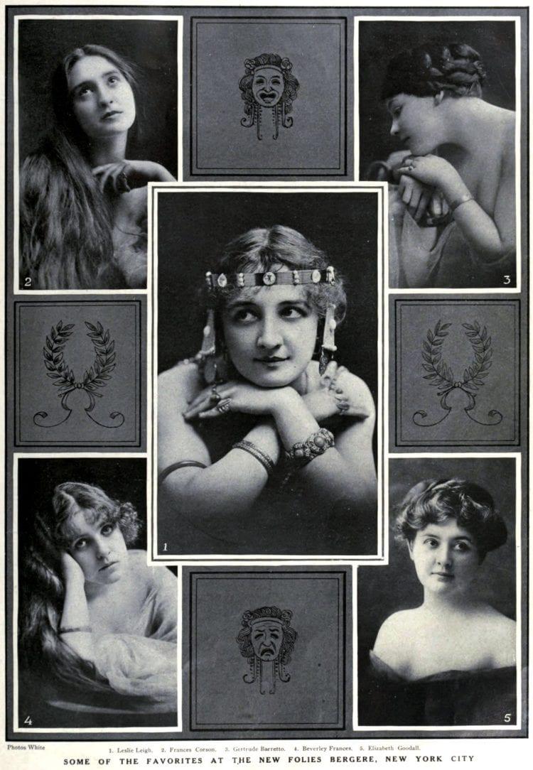 Theatre women c1909 (1)