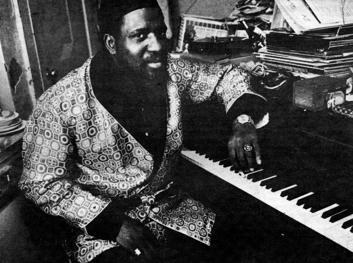 Thelonious Monk altered the language of jazz
