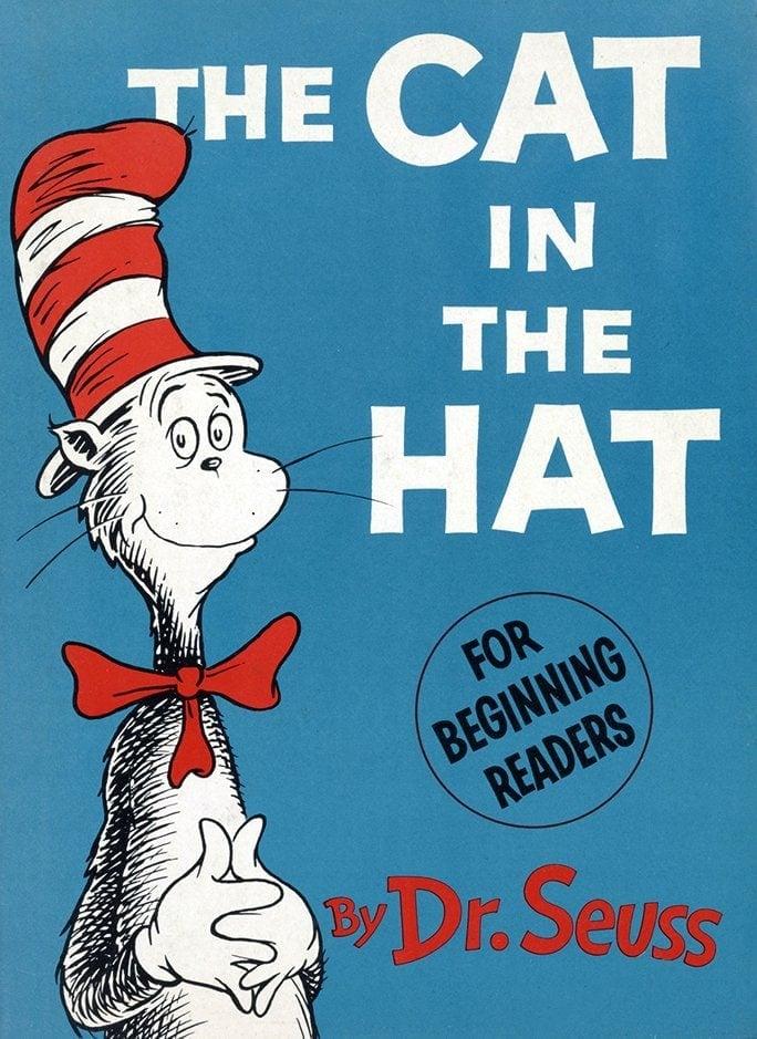 Theodor Geisel Dr Seuss The Cat in the Hat Random House 1957 via LOC