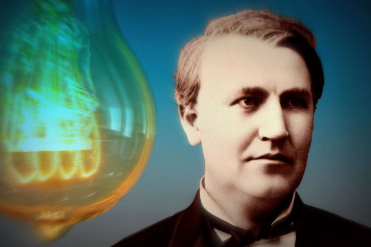 Thomas Edison says that people work too hard