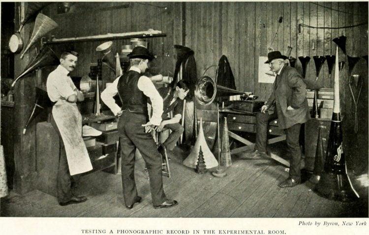 Thomas Edison and the phonograph (3)