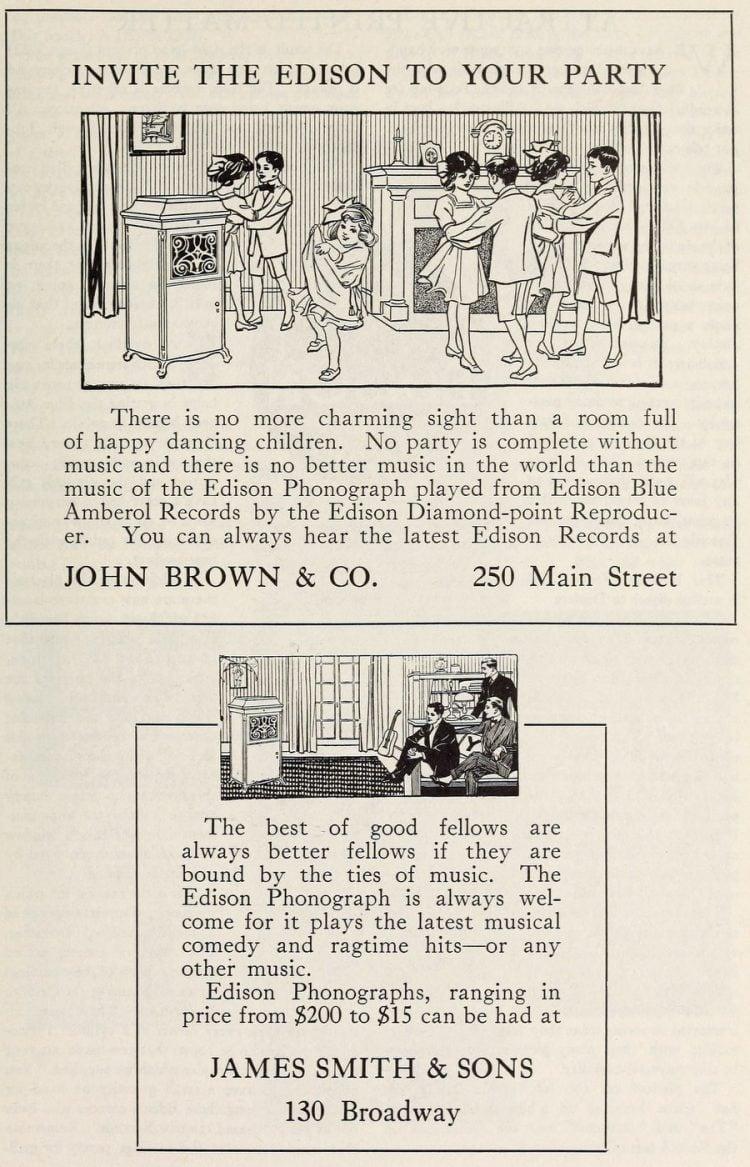 Thomas Edison and the phonograph c1907 (1)