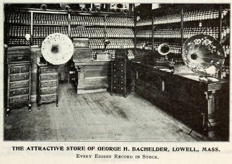 Thomas Edison and the phonograph c1907 (3)