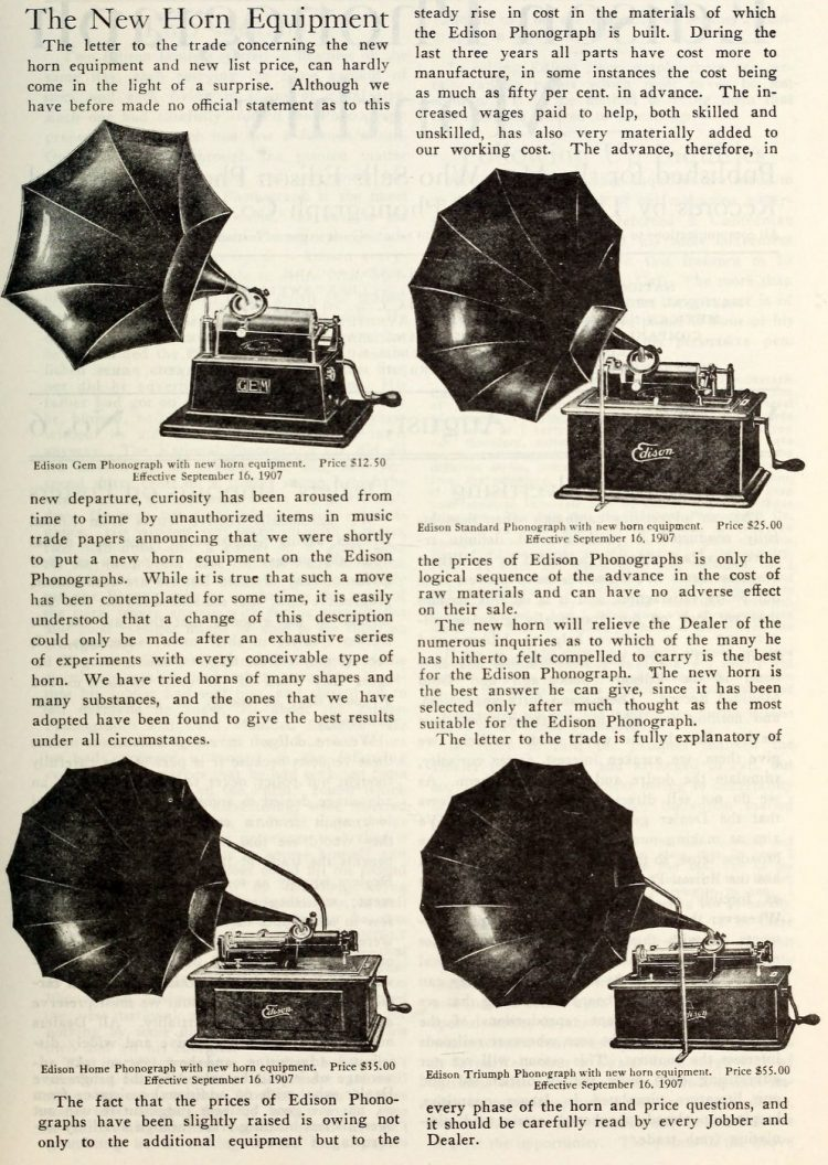 Thomas Edison and the phonograph c1907 (5)