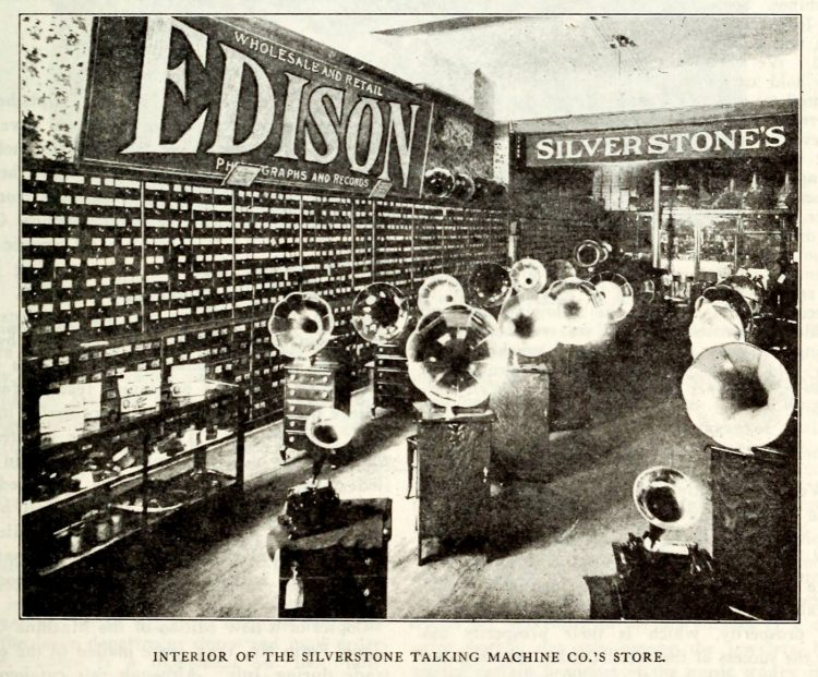 Thomas Edison and the phonograph c1907 (6)