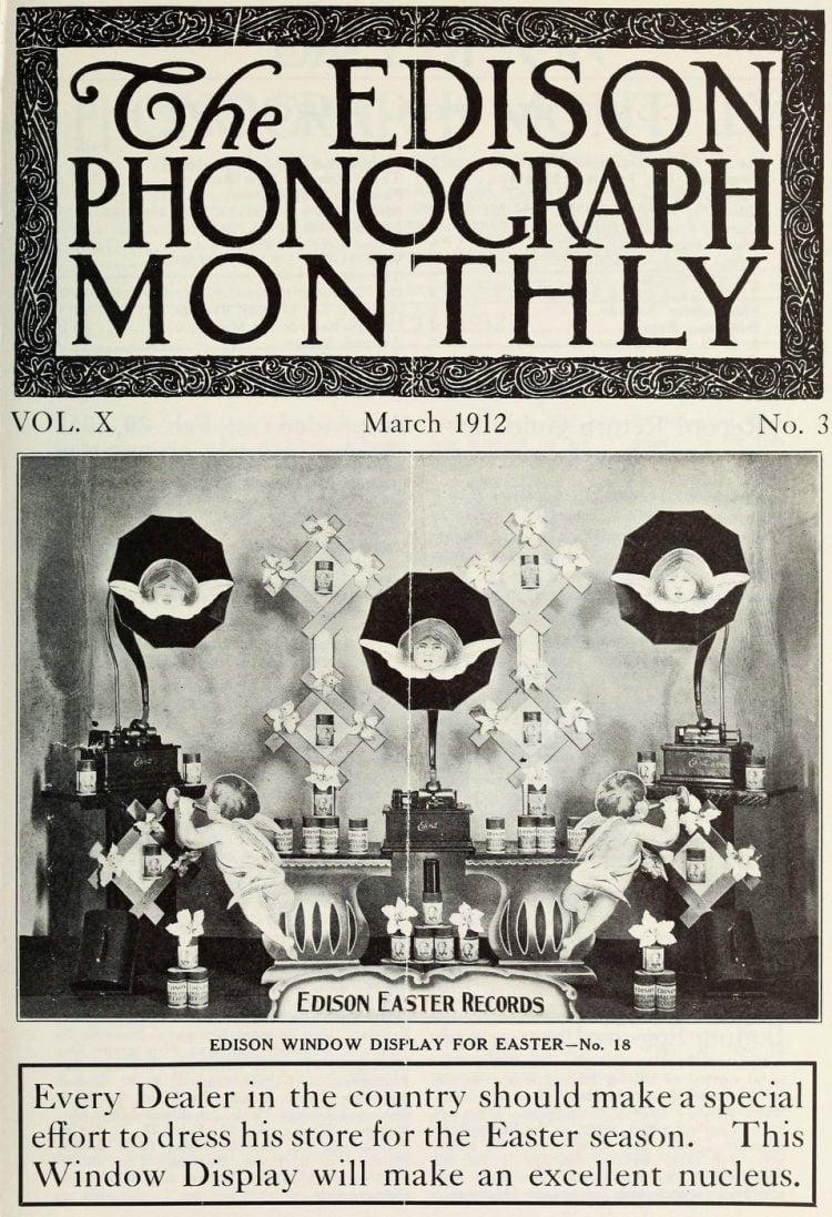 Thomas Edison and the phonograph c1907 (7)