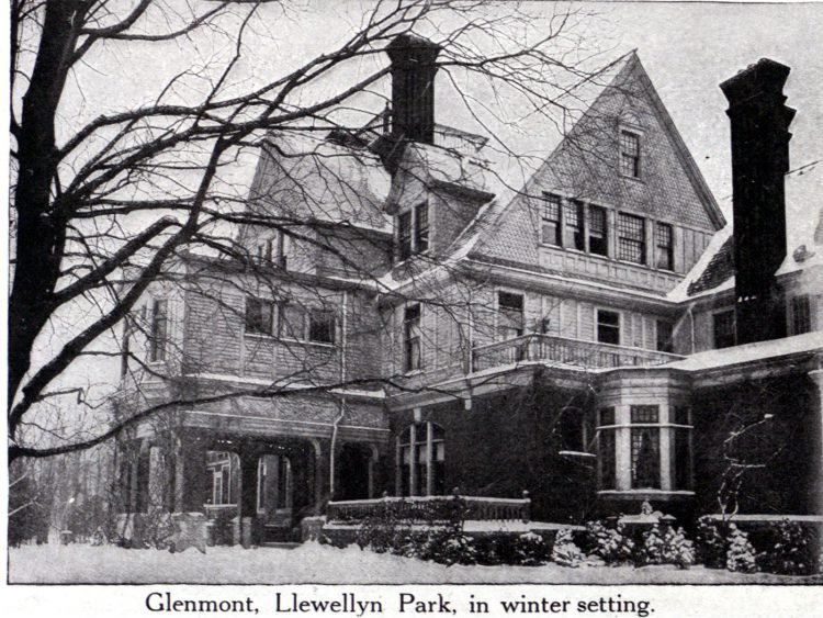 Thomas Edison's home - Seen in 1916 (1)