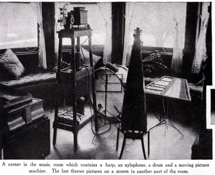 Thomas Edison's home - Seen in 1916 (2)