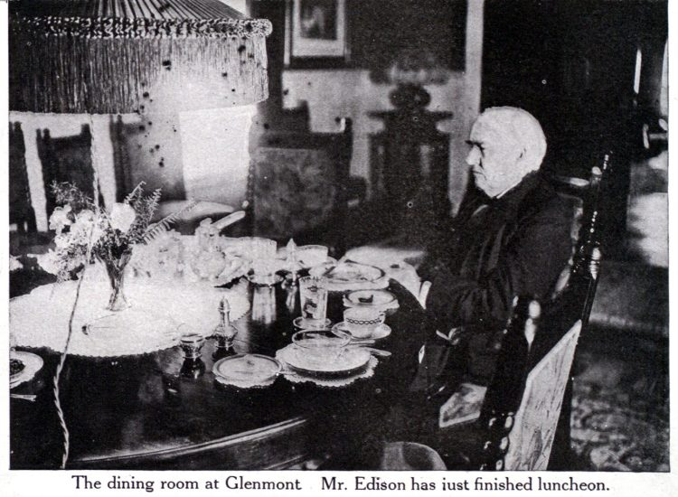 Thomas Edison's home - Seen in 1916 (5)