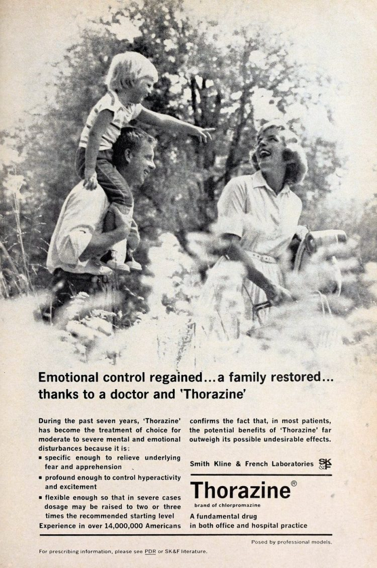 Thorazine for your family 1962