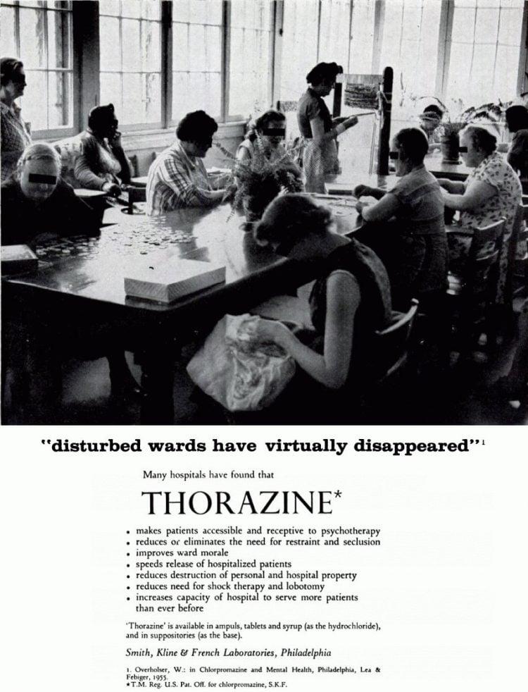 Thorazine vintage ad